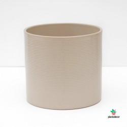 Maceta Cilíndrica Sesame 19 cm