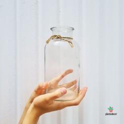 Frasca de vidrio 1L con...