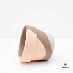 Macetero Deep Caolin 13 cm