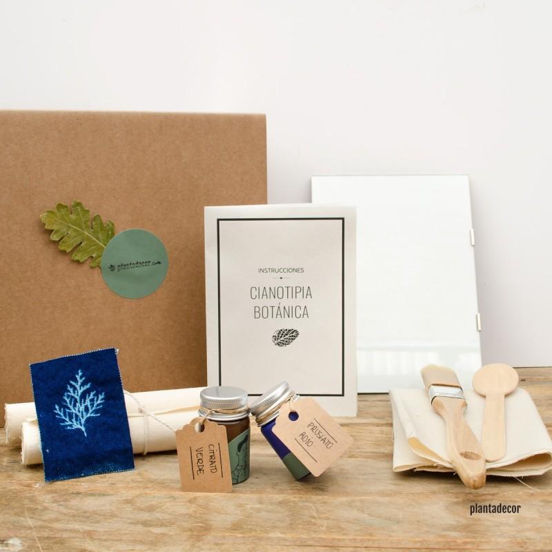 Pack de cianotipia botánica