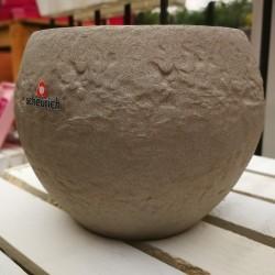 Maceta Cache Pot Taupe Stone