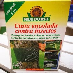 Cinta encolada contra insectos