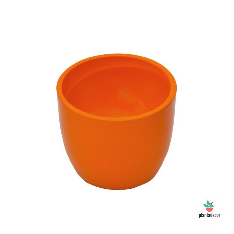 Maceta Basic Naranja (Pequeña)