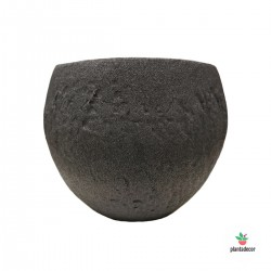 Maceta Cache Pot Dark Stone...