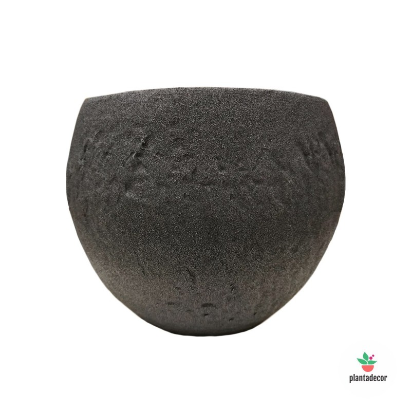 Maceta Cache Pot Dark Stone 16 cm
