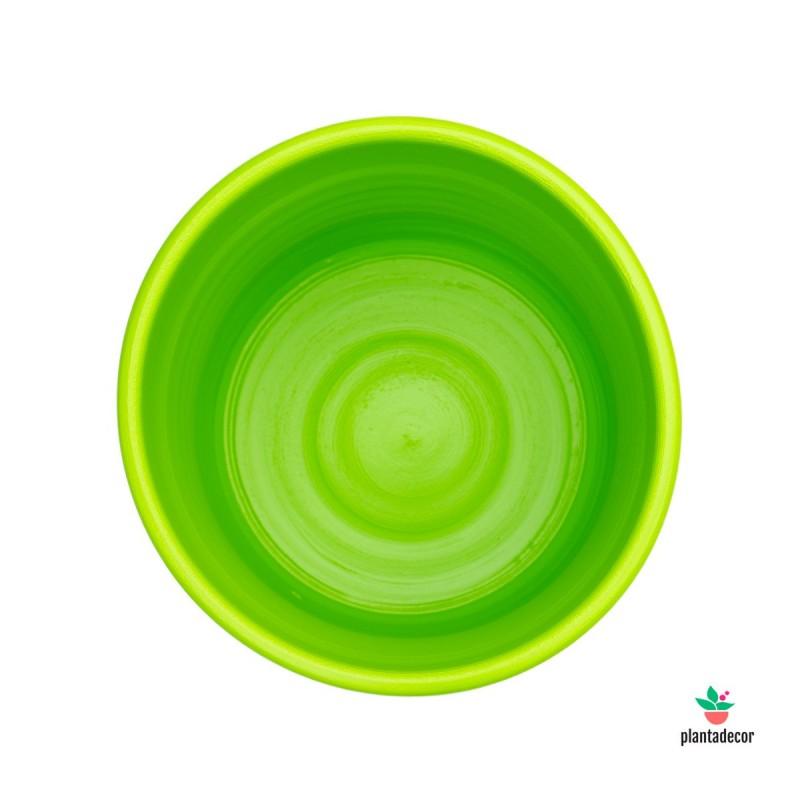 Maceta Ancha Verde