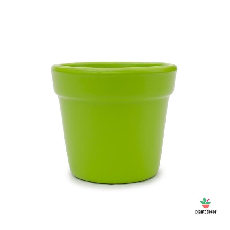 Maceta Midi Verde Pistacho