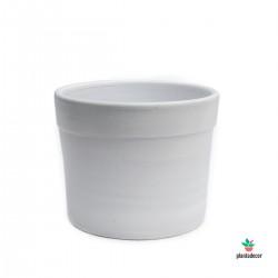 Maceta Sol Pale White
