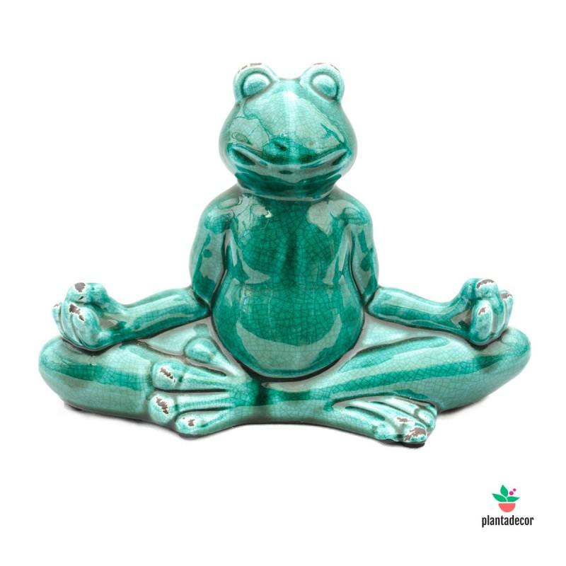 Rana Meditación Verde Esmeralda