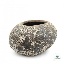 Macetero Stone Rustic Cream