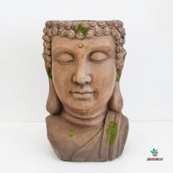 Macetero Buda envejecido XL