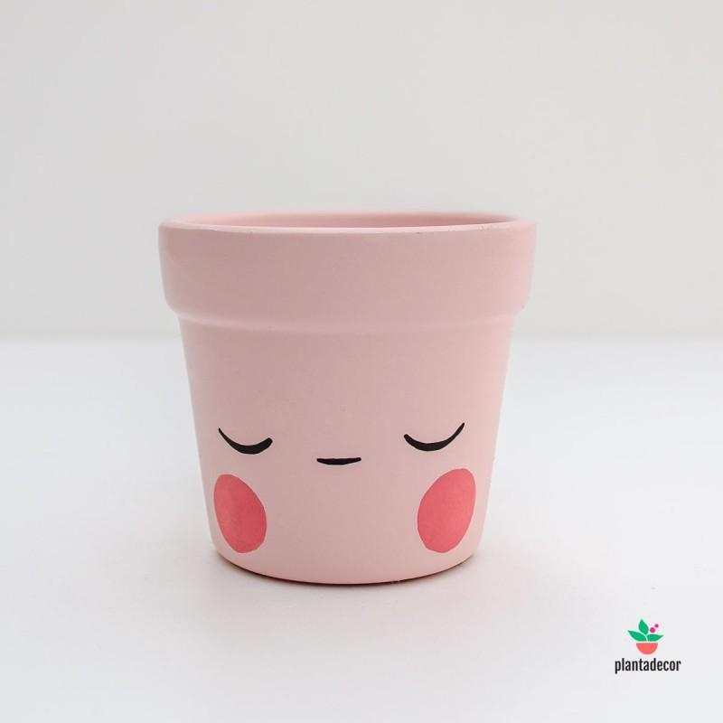 Maceta Caractus Ohmmm  rosa