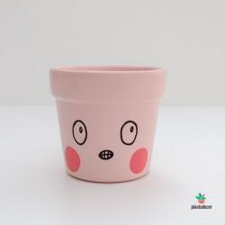Maceta Caractus Grrr Rosa