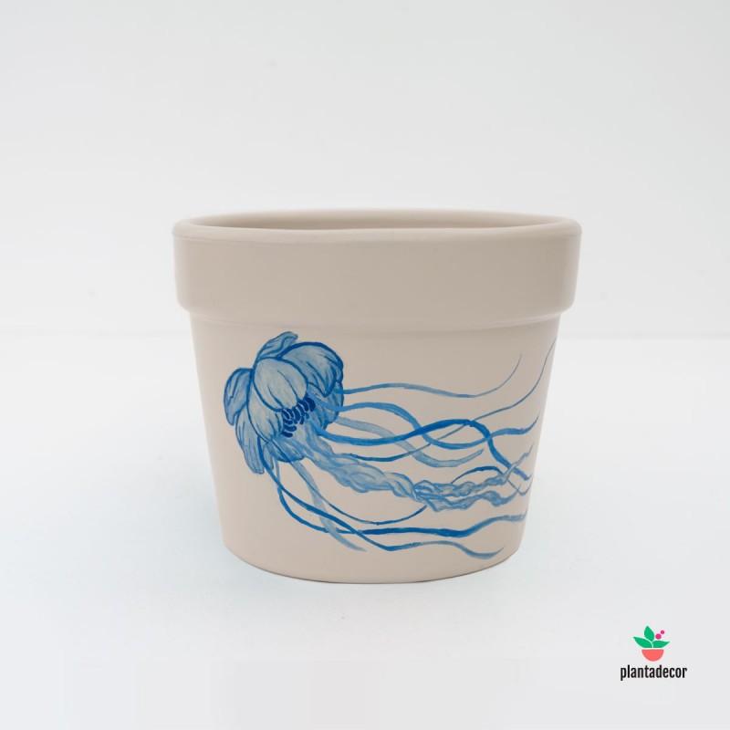 Maceta Oceanos Medusa