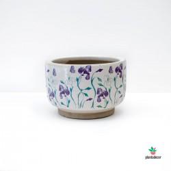 Maceta Iris Lavanda P