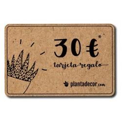 Tarjeta Regalo 30 €