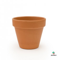 Maceta Barro Rojo M-13 cm